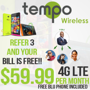 Unlimited Prepaid Plans With Tempo Wireless