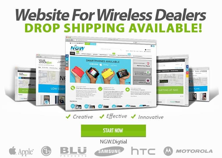 cell phone drop shipping